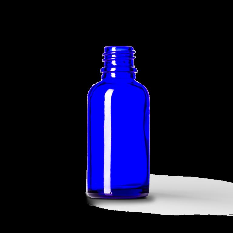 30ml Mavi Cam Şişe (10 Adet)